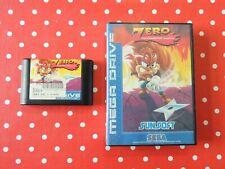Zero the Kamikaze Squirrel Sega Mega Drive in OVP