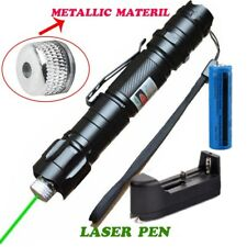 Cat Toy Green Laser Pointer Pen 5mw 532nm Green Laser Belt clip+Battery+Charger