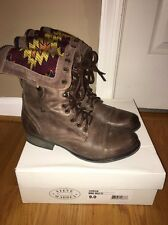 Steve Madden Chevie Boots In Brown Size 9