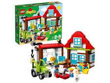 Costruzioni LEGO DUPLO VISITIAMO LA FATTORIA  trattore bambini bimbo animali