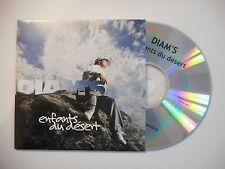 DIAM'S : ENFANTS DU DESERT ♦ CD SINGLE PORT GRATUIT ♦
