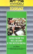 Sono seduto sul Ramo e mi sento bene (1989) VHS ViViVideo Juraj Jakubisko  RARA