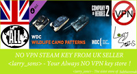Company of Heroes 2 - Whale and Dolphin Pattern Pack Steam key NOVPN Region Free