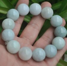 ~Bracelet Have certificate Bead size 12mm Certified 100% Natural A Emerald Jade