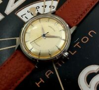 Vintage 1960s Mans Hamilton Self Wind Fully Serviced With 1 year WARRANTY