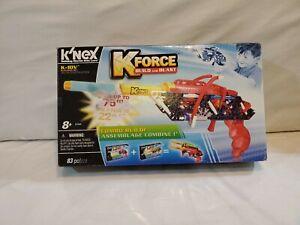 K'Nex K Force Build & Blast 83 pcs NEW K-10V Building Set #B