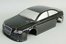 1/10 RC Car BODY Shell AUDI S4 200mm Fits HPI *PRE- FINISHED* BLACK