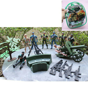 Army Combat Plastic Toys Sniper Soldiers/Army/  Games Kids Play Set