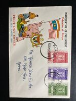 1959 Klang Malaya First Day Cover FDC Inauguration Of Parliament