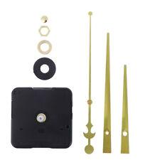 Silent Replacement Quartz Wall Clock Mechanism Movement DIY Repair Kit Black