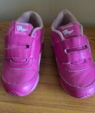 Girls Pink Reebok Trainers Infant Size 9