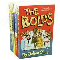 The Bolds 4 Books Children Collection Paperback By-Julian Clary