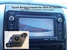 Toyota Tacoma Backup Camera OEM Plug n Play for 2014, 2015 Tacoma only