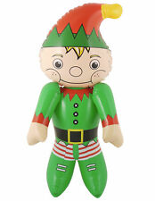 Inflatable Elf - Santa Christmas Decoration Stocking Toy Party Fillers Kids