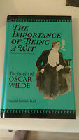 Oscar Wilde - The Importance of Being a Wit: Insults of Oscar Wilde (Anglais)