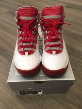 Air Jordan 10 Retro Red Steel 2005 Size 5Y 100% Authentic **FAST FREE SHIPPING**