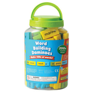 Learning Resources Word Building Dominoes - Kid's Sentence Formation English Toy