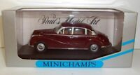 MINICHAMPS 1/43 - 430 022402 BMW 502 V8 LIMOUSINE - DARK RED