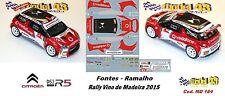 Citroen DS3 R5  - FONTES  - Rally Vino de Madeira 2015