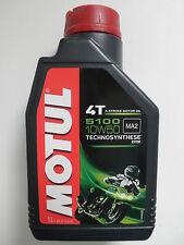 MOTUL 5100 OLIO MOTORE TECHNOSYNTHESE 4T 10W-50  FLACONE da 1 LITRO
