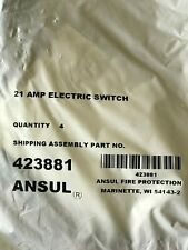 Ansul R-102 (4) 21 Amp Electric Switch Part #423881