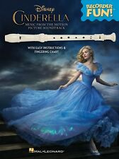 Cinderella Recorder Fun! Music from the Disney Motion Picture Soundtra 000147094