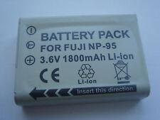 Akku für FujiFilm Fuji FinePix NP-95 NP95 X100 XS-1 F30 REAL 3D W1 2000 F31
