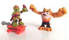 Tortugas Ninjas Adolescentes Mutantes TMNT media concha héroes Miguel Ángel y Dogpound