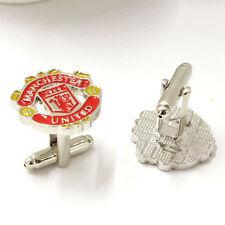 New Manchester United Football Club Alloy Cufflinks for Men's Shirt Fans Gift