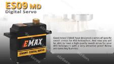 EMAX ES09MD DC4.8~6.0V Bearing Digital Coreless Servo Black FUT&JR Counter CW