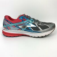 Brooks Ravenna 7 Gray/Pink/Teal Running Shoes 1202081B127 Women's 11 - No Insole