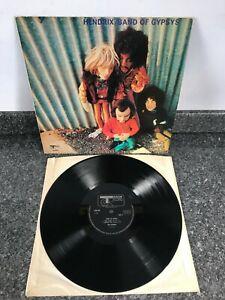 LP VINYL JIMI HENDRIX ALBUM BAND OF GYPSYS PUPPET COVER UK 1ST PRESS VG+/EX