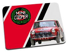 Mini Cooper S Rally Car Mouse Mat
