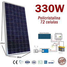 Placa Solar 330w Panel Solar Fotovoltaico Polycrystalline