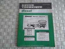 REVUE TECHNIQUE VEHICULES INDUSTRIELS RENAULT G 260 - 19