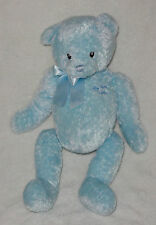 "Baby Gund Plush Blue My First Teddy #5835 Super Soft 15"" Stuffed Toy"