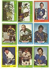 1973-74 Topps Hockey lot of 4 picks $2.00 EX and better