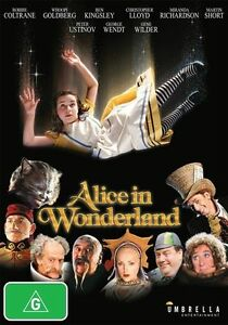 Alice In Wonderland (1999) (DVD) NEW/SEALED