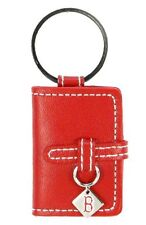 BOSTON RED SOX RED LEATHER PHOTO ALBUM KEY CHAIN NEW & OFFICIALLY LICENSED