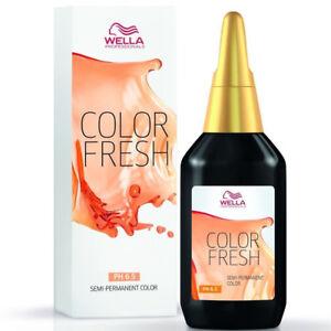 Gold Fresh Wella Reflection Direct Vitalizer Enhances Highlights 246 1/12ft