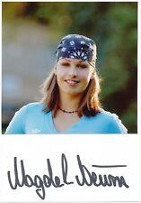 Magdalena Neuner  Biathlon Karte original signiert WL 339033
