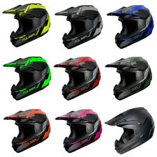 Adult Fulmer MX Helmet - 202 EDGE - ATV UTV Dirt Bike Off Road DOT Approved