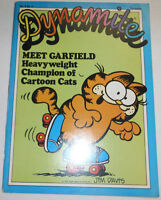Dyanmite Magazine Meet Garfield Cartoon Cats Vol.6 No.6 100714R