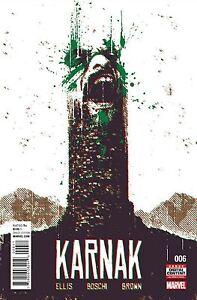 Karnak #6 Bd Livre 2017 - Marvel