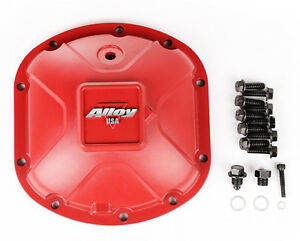 Alloy USA  Aluminum Dana 30 Differential Cover for Jeep Wrangler 11210 Red
