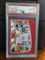 2013 Topps Target Red Chris Sale Baseball Card #49 PSA 10 Gem Mint POP 2