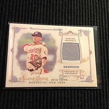 2014 TOPPS ALLEN & GINTER IAN DESMOND *GAME USED JERSEY RELIC*  NATIONALS