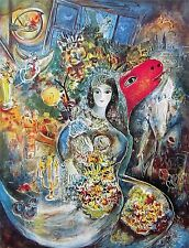 Bella, Limited Edition Offset Lithograph, Marc Chagall