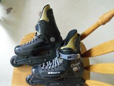 Bauer classic v-tech rollerblades size 7 black
