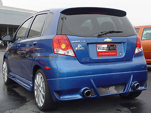 UN-PAINTED-GREY PRIMER FINISH for CHEVY AVEO 5DR H/B 2006-2011  SPOILER WING NEW